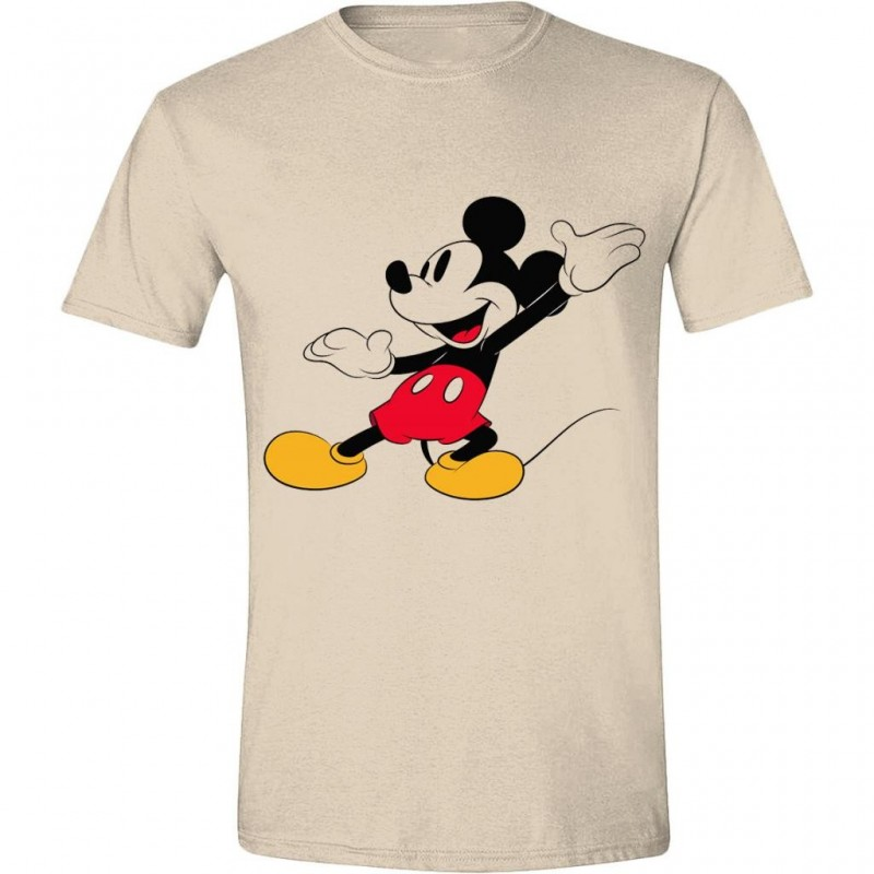 DISNEY - T-Shirt - Mickey Mouse Happy Face (L)
