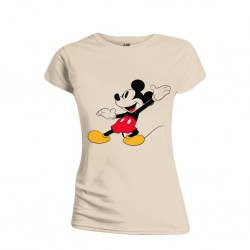 DISNEY - T-Shirt - Mickey Mouse Happy Face - GIRL (M)
