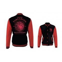 GAME OF THRONES - Blouson Teddy House Targaryen (L)