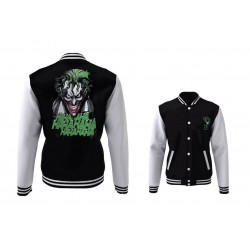 DC COMICS - Blouson Teddy Joker Laugh (XXL)