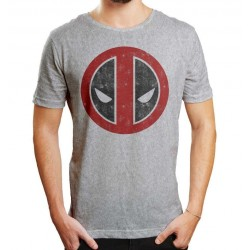 MARVEL - T-Shirt Deadpool Distress Logo (XXL)