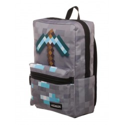 MINECRAFT - Box Rugzak with Axe Print