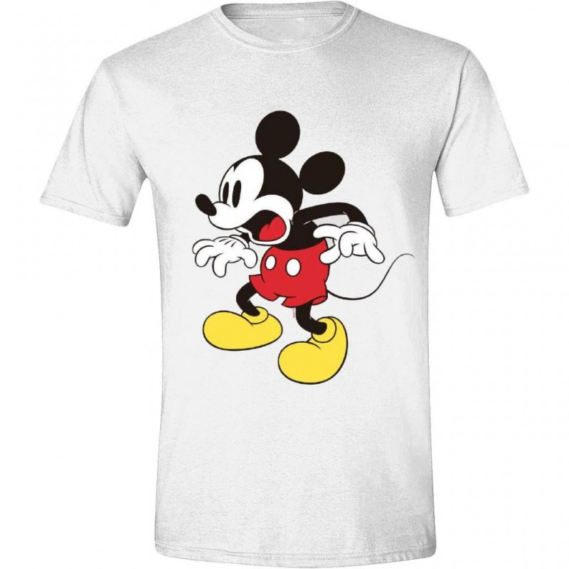 DISNEY - T-Shirt - Mickey Mouse Shocking Face (S)
