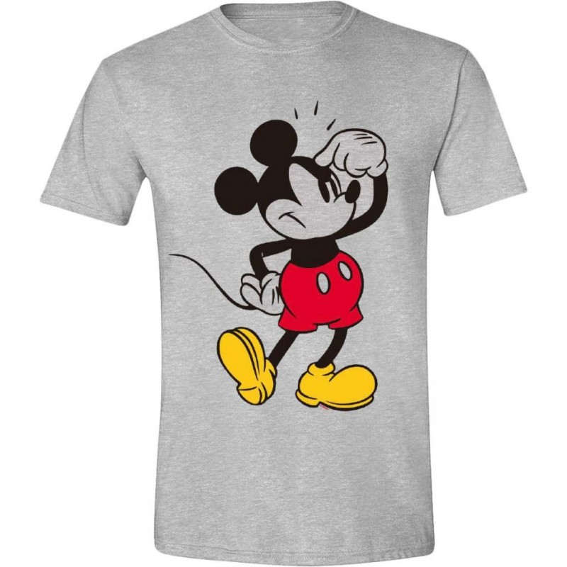 DISNEY - T-Shirt - Mickey Mouse Annoying Face (L)