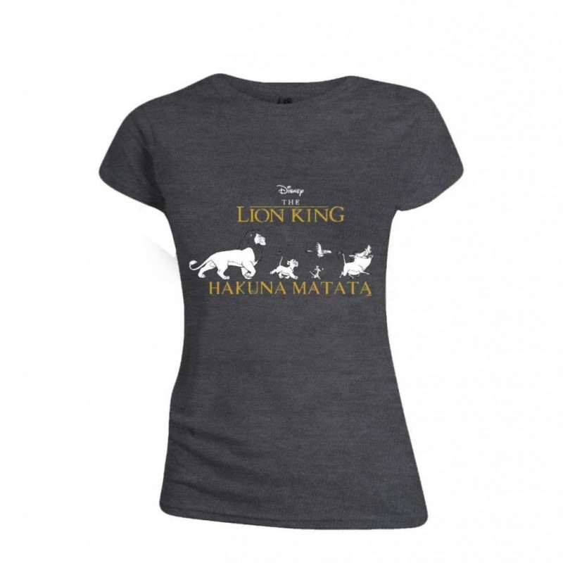 DISNEY - T-Shirt - The Lion King : Hakuna Matata - GIRL (L)