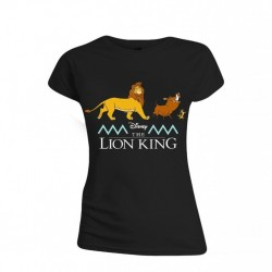 DISNEY - T-Shirt -The Lion King : Logo and Characters - GIRL (XL) 172621  T-Shirts