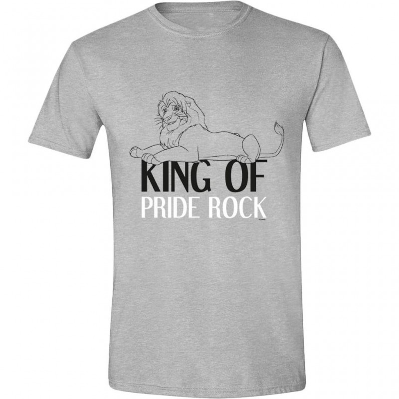 DISNEY - T-Shirt -The Lion King : King of the Jungle (XXL)