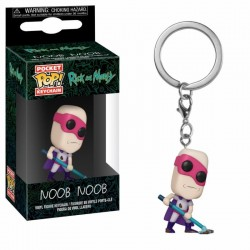 RICK & MORTY - Pocket Pop Keychains : Noob Noob 170944  Sleutelhangers