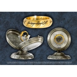 LORD OF THE RINGS - One Ring Stainless Steel - Size US 14 FR 72.7