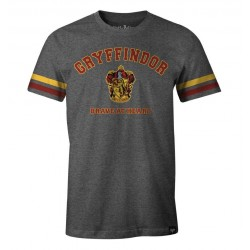 HARRY POTTER - T-Shirt Gryffindor Brave at Heart (XXL)