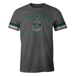 HARRY POTTER - T-Shirt Slytherin Ambitious and Cunning (M)