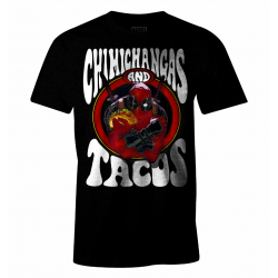 MARVEL - Deadpool - T-Shirt - Chimichangas and Tacos (XL) 174996  T-Shirts