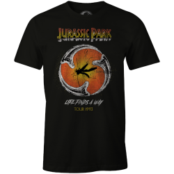 JURASSIC PARK - Moustic Tour 1993 - Men T-Shirt (XL) 177019  T-Shirts