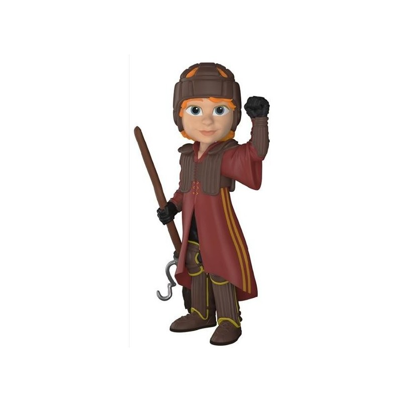 Rock Candy : Harry Potter - Ron in Quidditch Uniform - 13cm 165443  Harry Potter Figurines