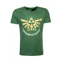 ZELDA - Men's T-Shirt - Golden Hyrule (L) 177077  T-Shirts