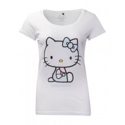 HELLO KITTY - Women's T-Shirt - Embroidery Details (S) 177241  T-Shirts
