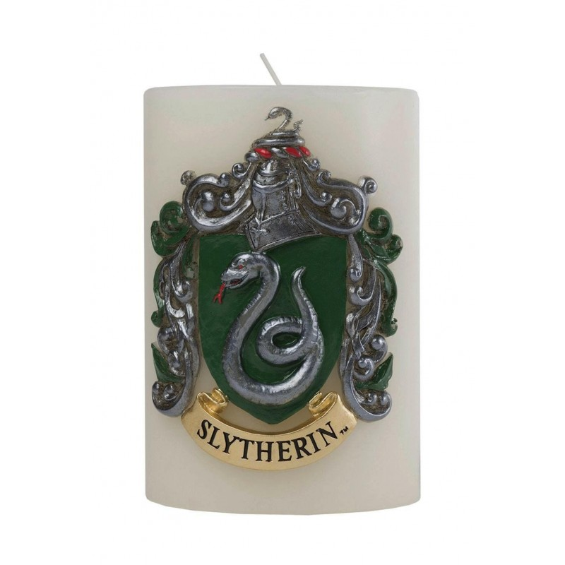 HARRY POTTER - Slytherin Scupted Insignia Candle - 15x10 cm 165436  Kaarsen