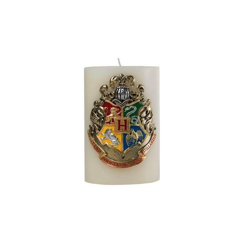 HARRY POTTER - Hogwarts Scupted Insignia Candle - 15x10 cm 165435  Kaarsen