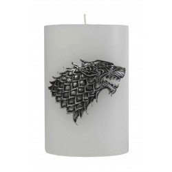 GAME OF THRONE - House Stark Scupted Sigil Candle - 15x10 cm 165432  Gadgets