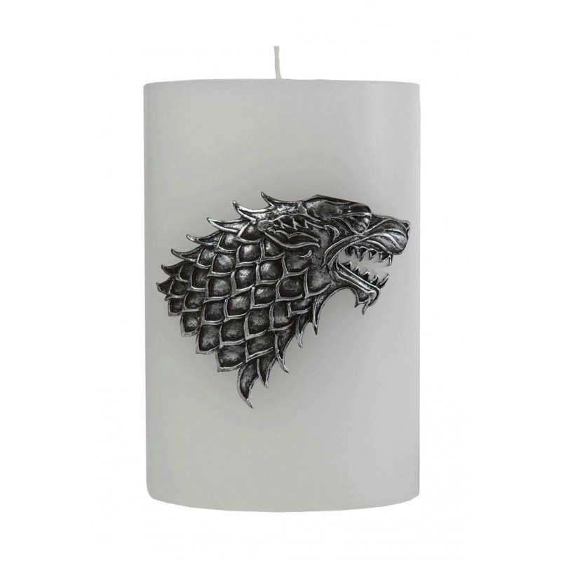 GAME OF THRONE - House Stark Scupted Sigil Candle - 15x10 cm 165432  Kaarsen
