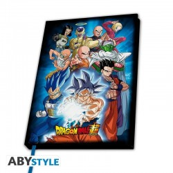 DRAGON BALL SUPER - Notebook A5 - Universe 7 179308  Notitie Boeken