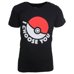 POKEMON - T-Shirt Pokeball KIDS (158/164)