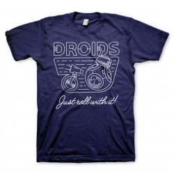 STAR WARS - Droids - Just Roll with It - T-Shirt - (XL)