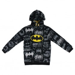 DC COMICS - Sweat Coral Fleece Batman - (10yo) 180995  Kinderkleding