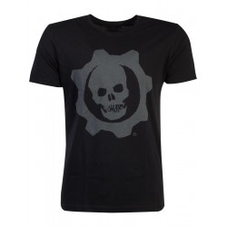GEARS OF WAR - Men T-Shirt Skull Badge (S) 181243  T-Shirts