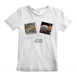 MANDALORIAN - Kids T-Shirt - The Child First Day Out - (L) 181936  Kinderkleding