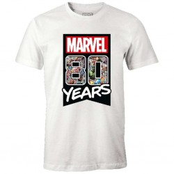 MARVEL - T-Shirt - Marvel 80 years - (M)