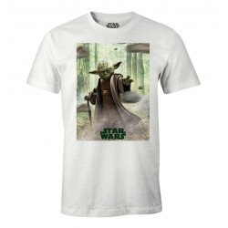 STAR WARS - T-Shirt - Yoda - (XL) 182293  T-Shirts