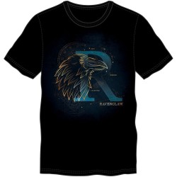 HARRY POTTER - T-Shirt Glow in the Dark - Ravenclaw - (XL) 182421  T-Shirts