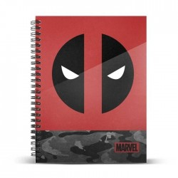 MARVEL - Deadpool Rebel - Notebook A4 183172  Notitie Boeken