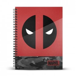 MARVEL - Deadpool Rebel - Notebook A5 183173  Notitie Boeken