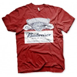 BEER - Budweiser Red Label - T-Shirt - (L) 185487  T-Shirts