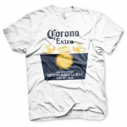 BEER - Corona Extra Label - T-Shirt - (XXL)