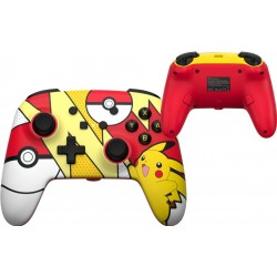 POWER A - Wired Enhanced Controller Pokemon Pop Art for NintendoSwitch 186134  Switch Controllers