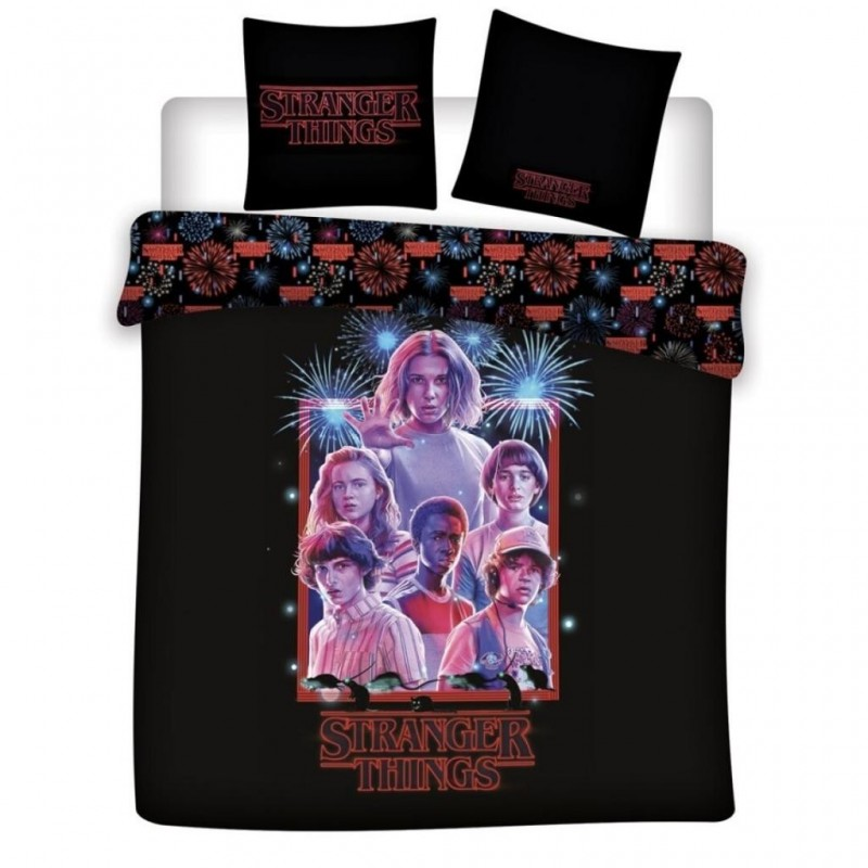STRANGER THINGS - Duvet Cover 240X220 - Team '100% microfiber' 192855  Dekbedden