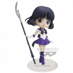 SAILOR MOON ETERNAL - Super Sailor Saturn - Q Posket Ver.A 14cm 193149  Figurines