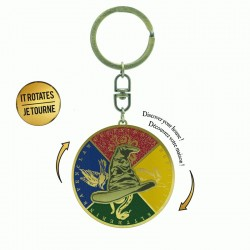 HARRY POTTER - Sorting Hat - Moving Keychain