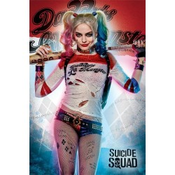 SUICIDE SQUAD - Daddy's Lil Monster - Poster 61x91cm 193301  Posters