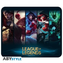 LEAGUE OF LEGENDS - Champions - muismat 23.5x19.5 cm