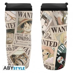 ONE PIECE - Wanted - Tumbler Koffiebeker to go 355ml