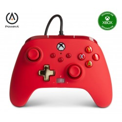 POWER A - Wired Controller Enhanced - Red Xbox Series X 193391  XboxOne Controllers