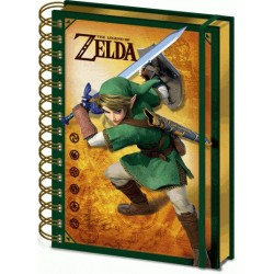 THE LEGEND OF ZELDA - Lenticular Notebook A5