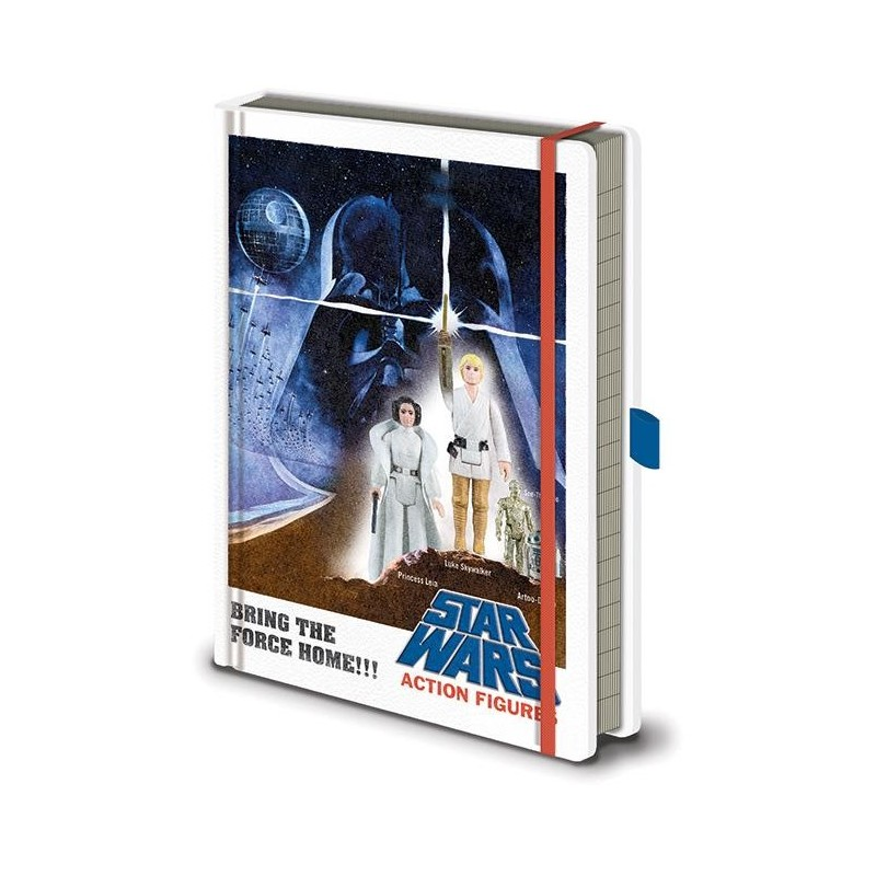 STAR WARS - Action Figures - Notebook A5 Premium 193410  Notitie Boeken