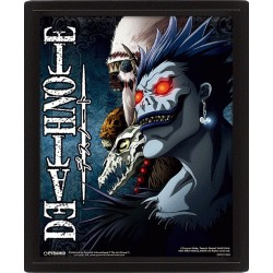 DEATH NOTE - Shinigami - 3D Lenticular Poster 26x20cm