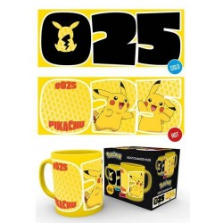POKEMON - Pikachu 025 - Mug Heat Change 300 ml
