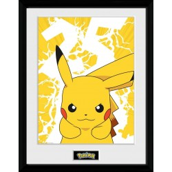 POKEMON - Pikachu Lightning- Collector Print '30x40cm' 193491  Posters